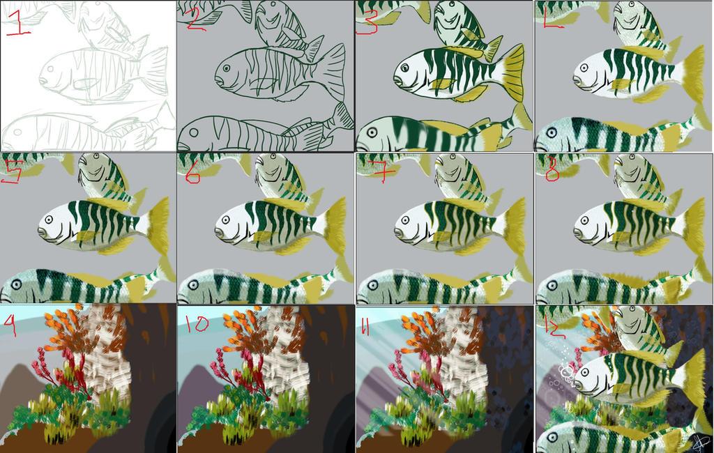 Zebra Fish Tutorial by KatsuNoJutsu95