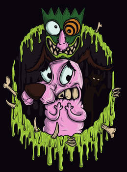 Courage the Cowardly Dog!