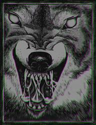Wolf by Chmurzasty