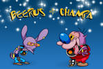 The Beerus and Champa Show