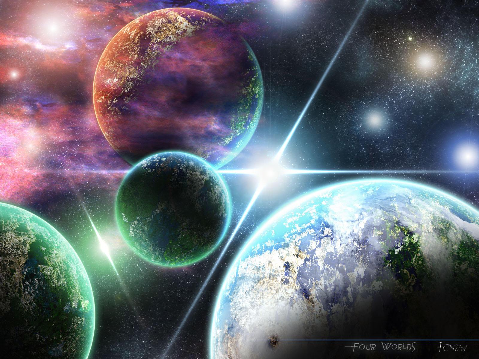 4 Worlds by Nebul