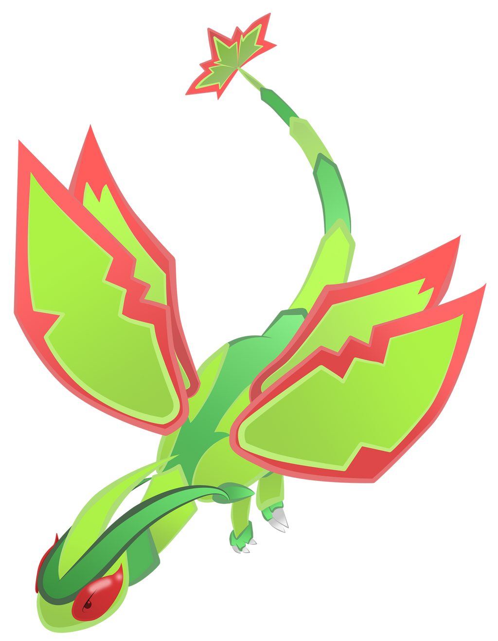 Flygon generation 3 move learnset (Ruby, Sapphire, FireRed ...