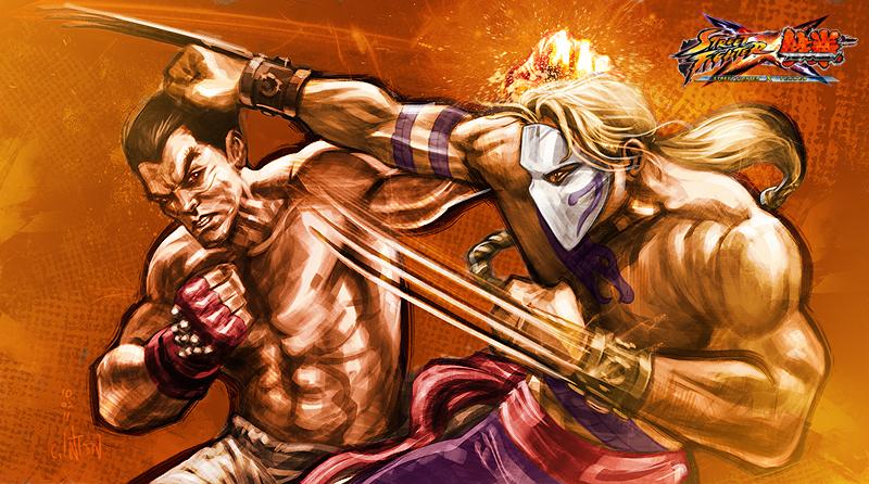 Kazuya vs Vega by Inton