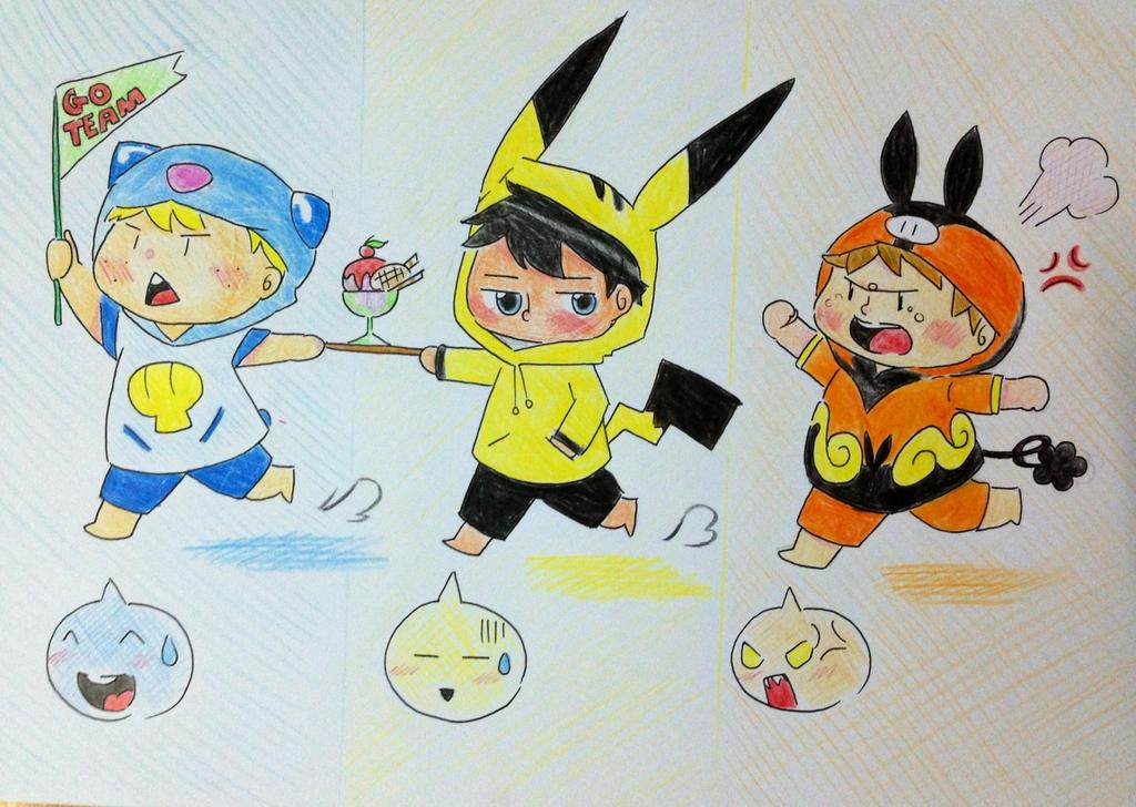 Pokemon Friends Images | Pokemon Images