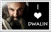 I Love Dwalin Stamp by RachelFelicity