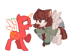 [OPEN COLLAB] ''What are you?'' by Mia-Marshmallow