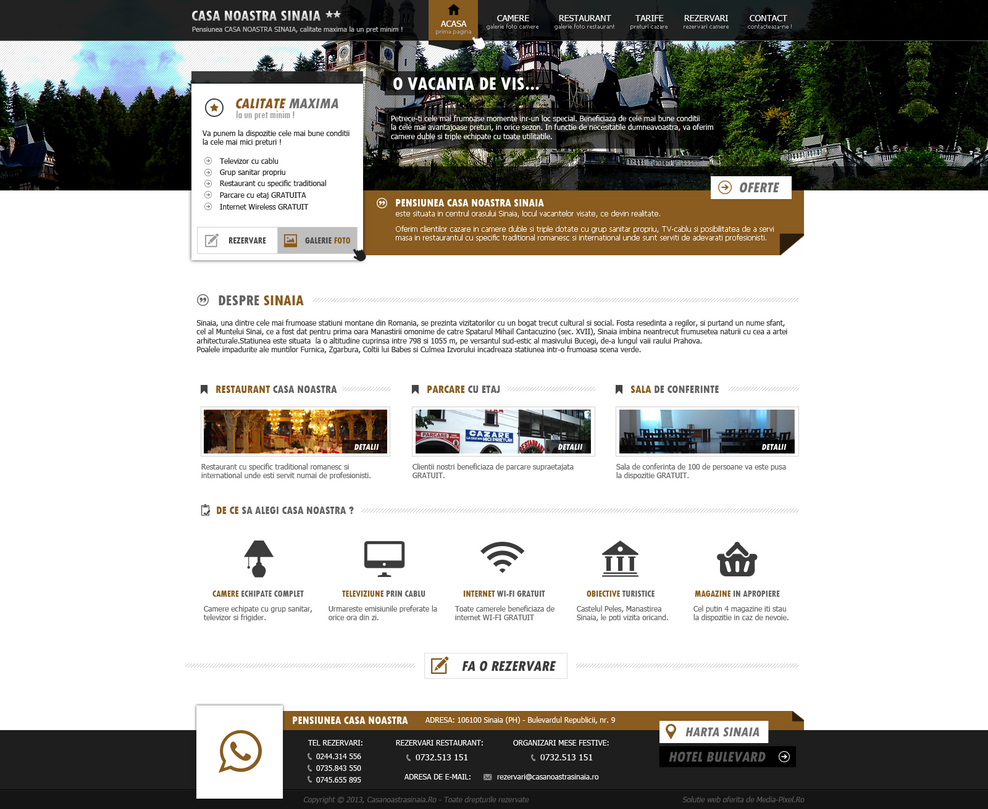 Mountain Guest House Web Design By Majestik91 On Deviantart