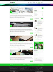 MajeStik Blog Layout Design (Green) by MajeStik91