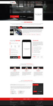 MajeStik PSD Corporate Responsive Design - Product
