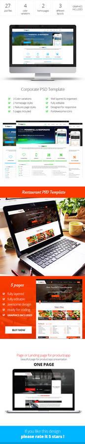 MajeStik PSD Template Presentation