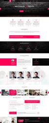 Ronda - Multipurpose Corporate PSD Template by MajeStik91