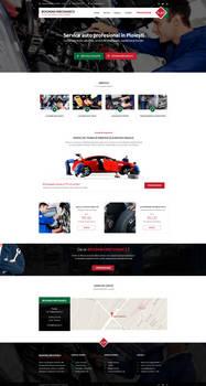 Auto Repair website design