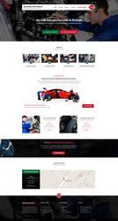 Auto Repair website design by MajeStik91