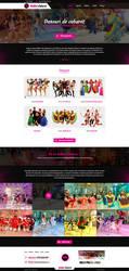 Cabaret Dance website design by MajeStik91