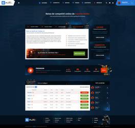 Online gaming platform for CS 1.6