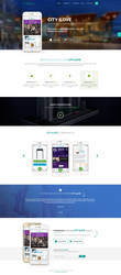 Mall App landing page by MajeStik91