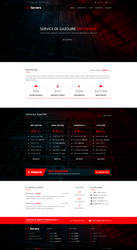 EnixServers Hosting Website by MajeStik91