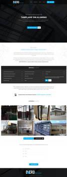 Dacro.ro - Joinery website template by MajeStik91