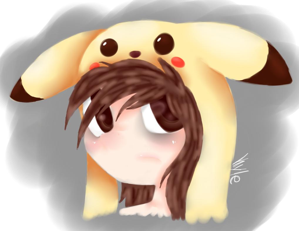 Pikachu Girl by acypo9001