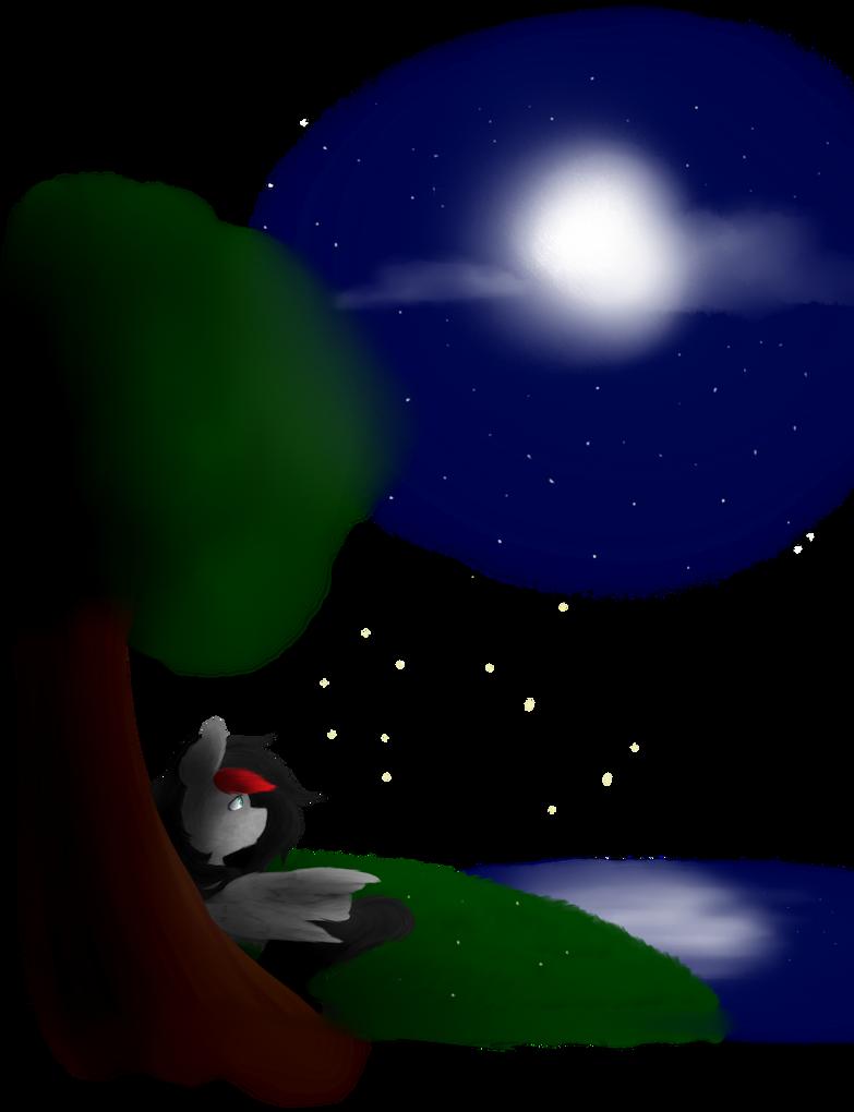 Night Sky by acypo9001