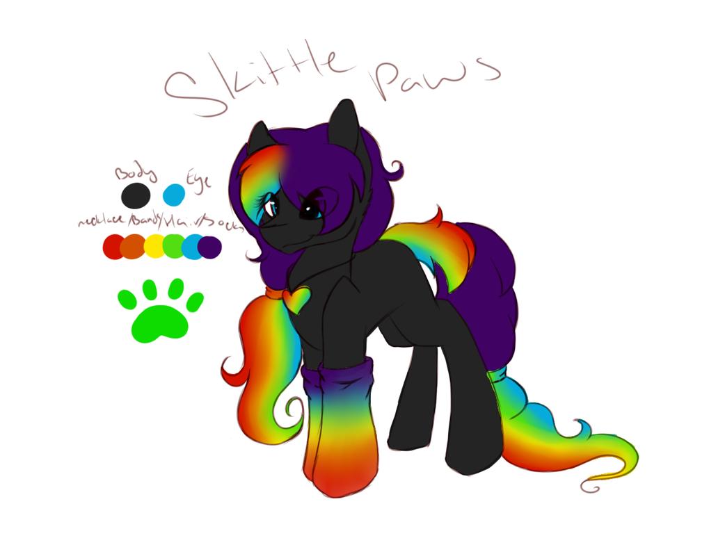 *ADOPT* Skittle Paws by acypo9001