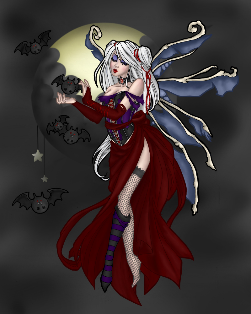 Vampire Fairy by mistress-of-fire