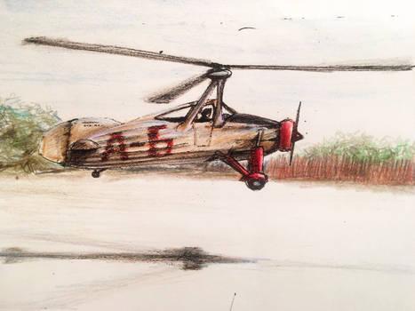Post autogyro colours