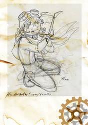 Sketching character