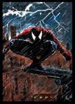 Spiderman rain
