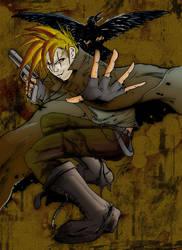 Crow boy :color: by htx