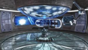 alien abduction room