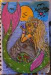 Bday Mermaid Gift Art by yatame-chan