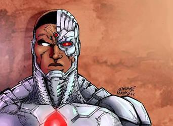 #Cyborg#LigadaJustiaDCcomics