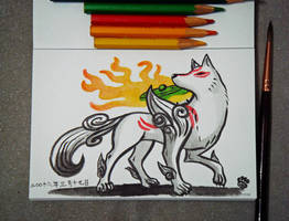 Amaterasu by Mky-Amako