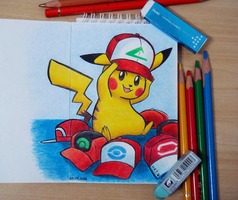 Cap Pikachu