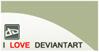 We Love Deviantart Stamp by ANC4DES