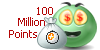 100 Million Points stamp (GIFT) by ANC4DES