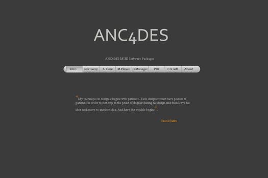 ANC4DES MINI Package CD