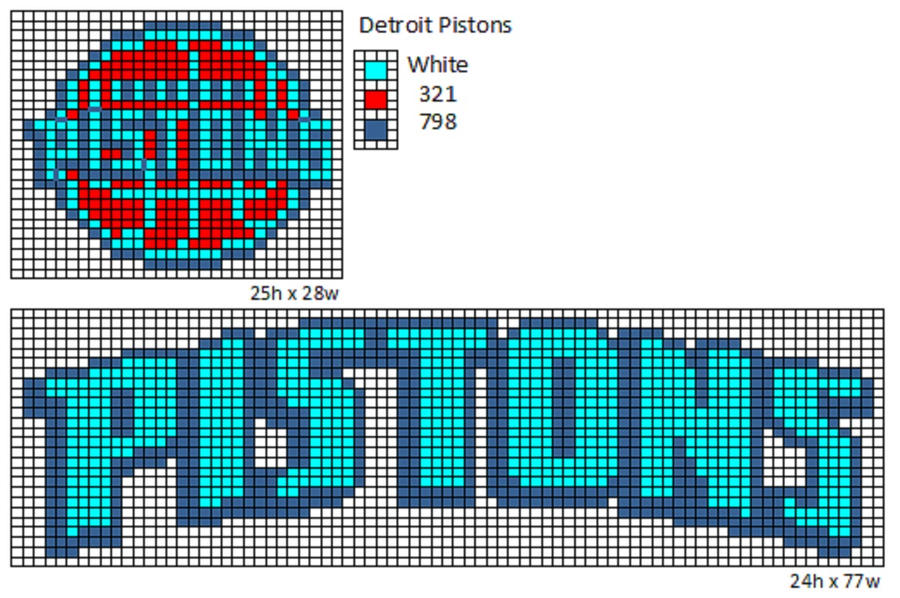 Detroit Pistons by cdbvulpix