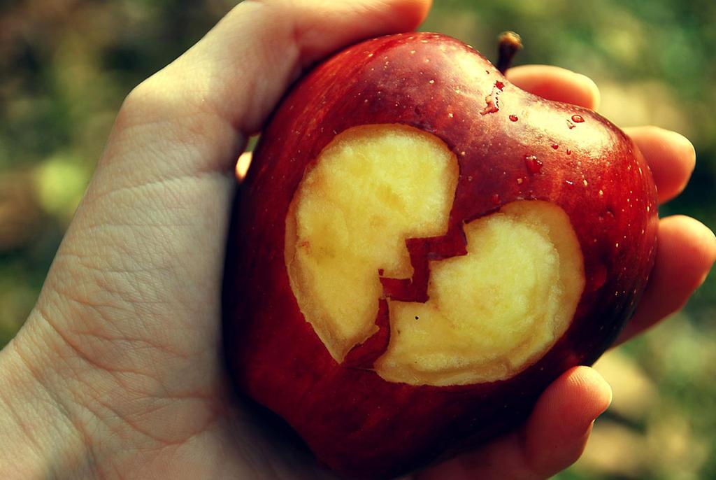Apple's broken heart