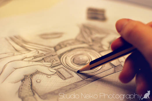 Drawing Photo Camera