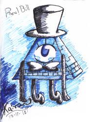 Rev!Bill/Will Doodle by Kaira-Raiton-Kurama