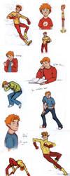 Wally doodles by bbfan77