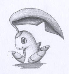 Bayleef Head sketch