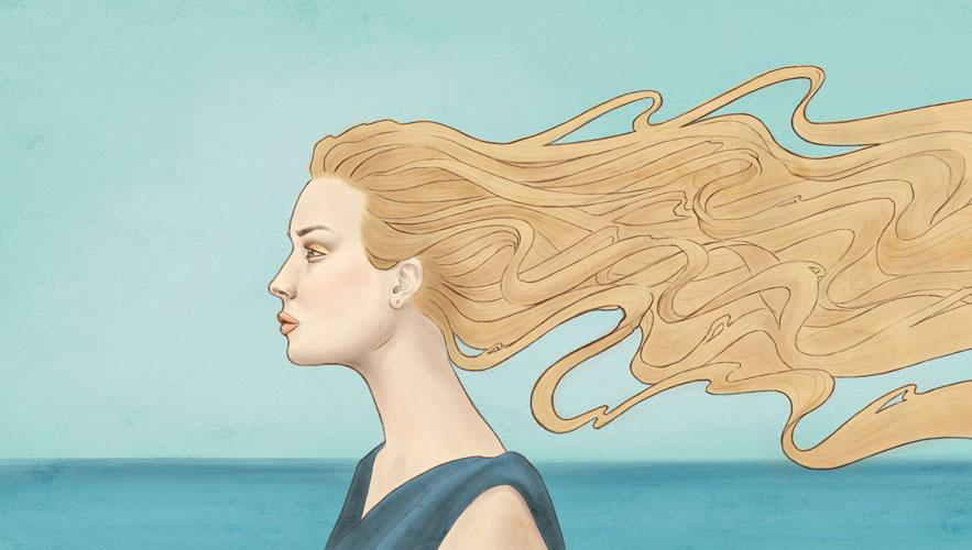 16/15 - sea breeze by poshTrash
