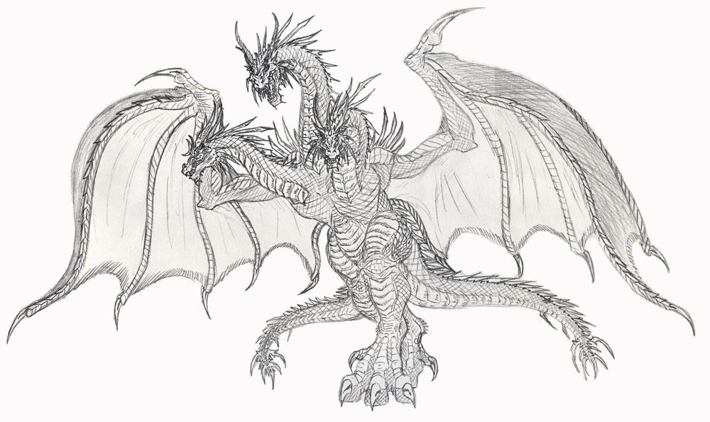 King Ghidorah by Pyrotyrannis on DeviantArt