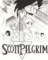 The Legend of Scott Pilgrim by DemonLuna