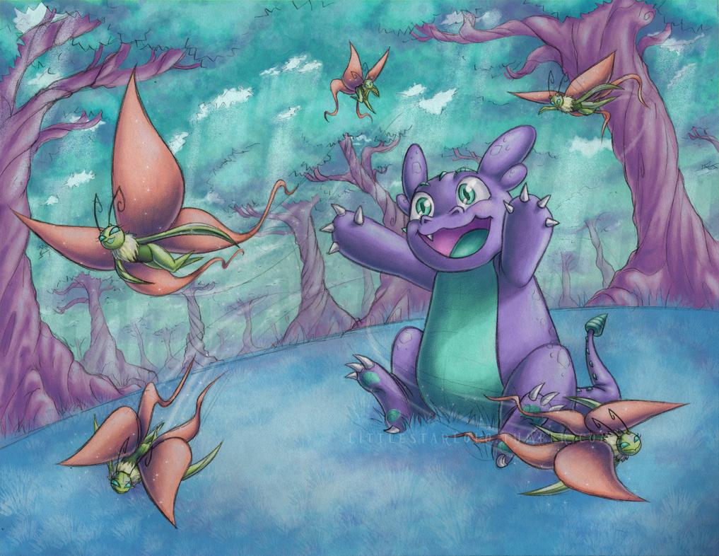 Pooka and the Dusklies by DemonLuna