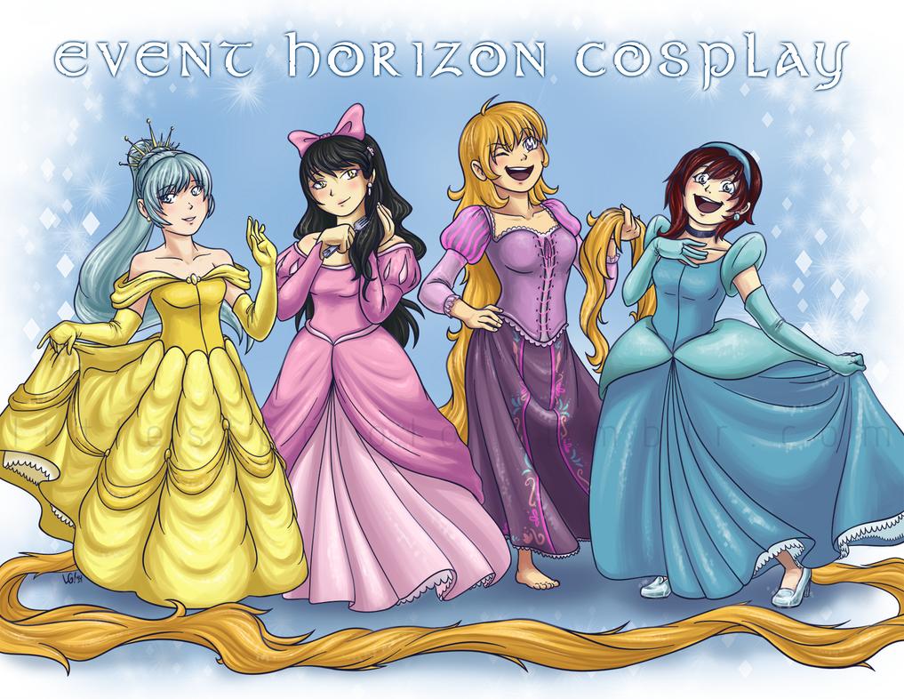RWBY Princesses by DemonLuna