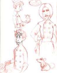 Ratatouille Doodles by cebap